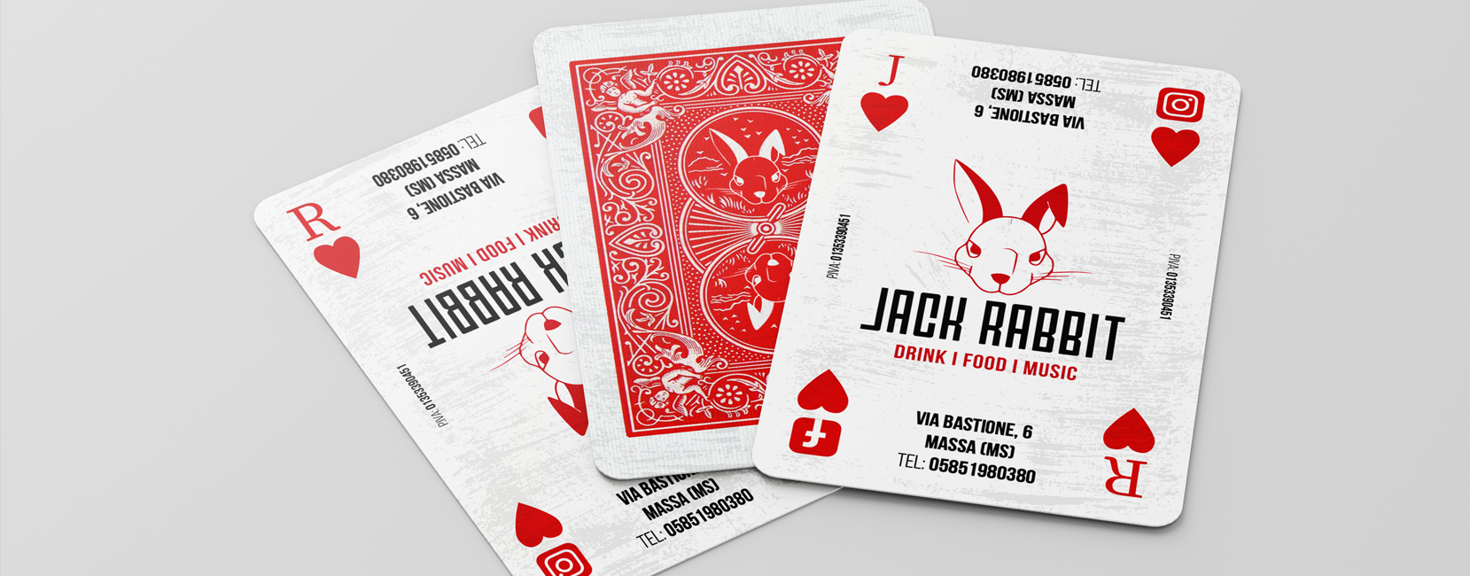 Biglietti da Visita Jack Rabbit